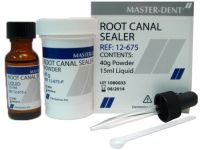 "Силер ""MASTER-DENT"" ROOT CANAL SEALER KIT (40GM POWDER / 15"
